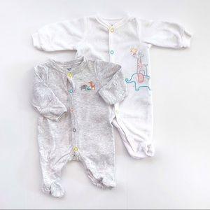 Neutral Baby Newborn Pajamas